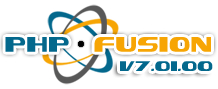 PHP-Fusion V7.01.00